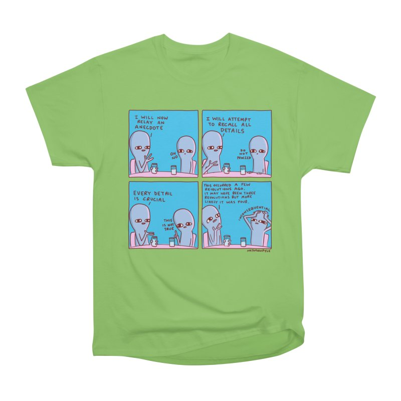 STRANGE PLANET: INCONSEQUENTIAL Men's Heavyweight T-Shirt by Nathan W Pyle