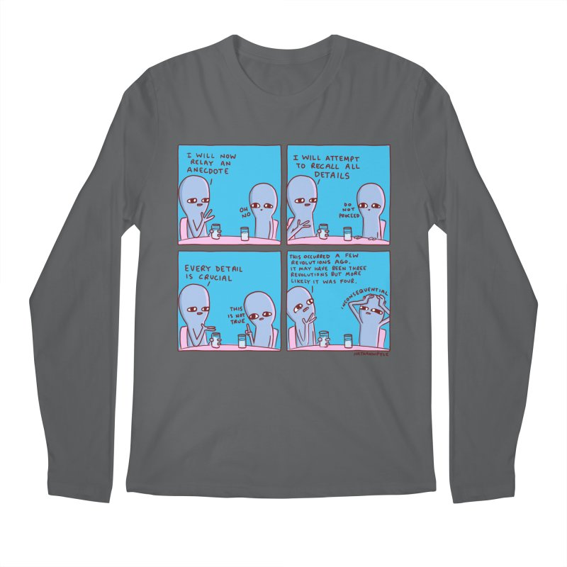 STRANGE PLANET: INCONSEQUENTIAL Men's Regular Longsleeve T-Shirt by Nathan W Pyle