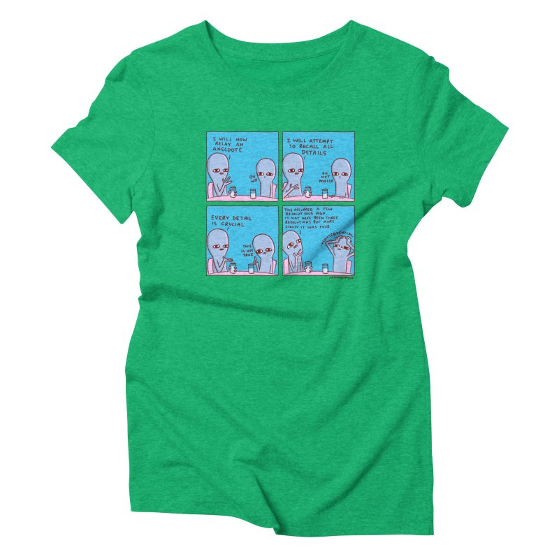 STRANGE PLANET: INCONSEQUENTIAL Women's Triblend T-Shirt by Nathan W Pyle