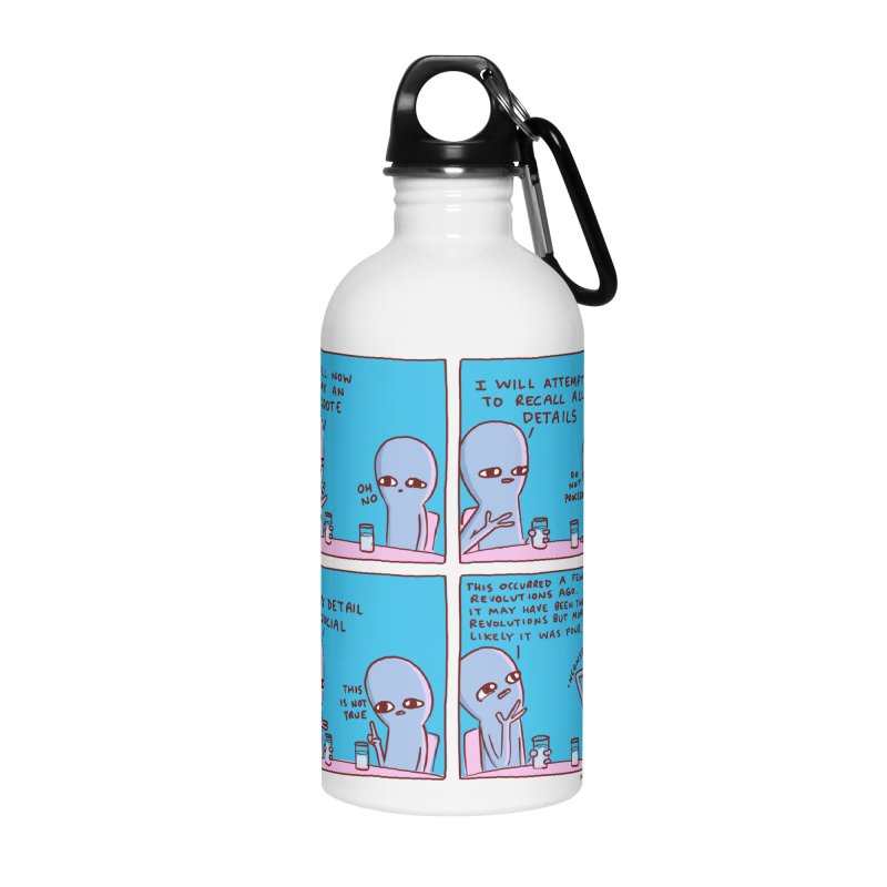 STRANGE PLANET: INCONSEQUENTIAL Accessories Water Bottle by Nathan W Pyle
