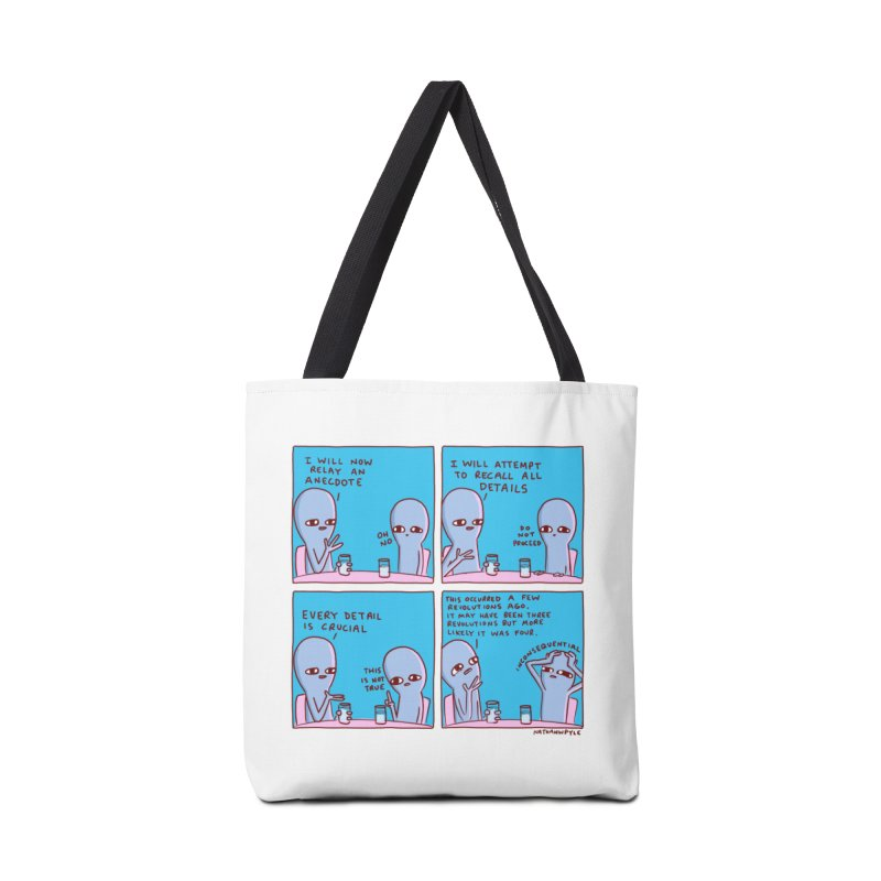 STRANGE PLANET: INCONSEQUENTIAL Accessories Tote Bag Bag by Nathan W Pyle