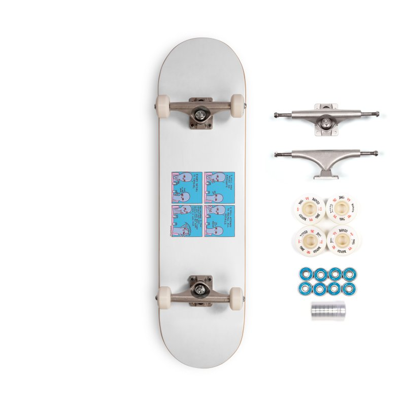 STRANGE PLANET: INCONSEQUENTIAL Accessories Complete - Premium Skateboard by Nathan W Pyle