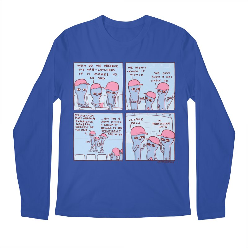 STRANGE PLANET: UNIQUE PAIN IN PARTICULAR HATS Men's Regular Longsleeve T-Shirt by Nathan W Pyle