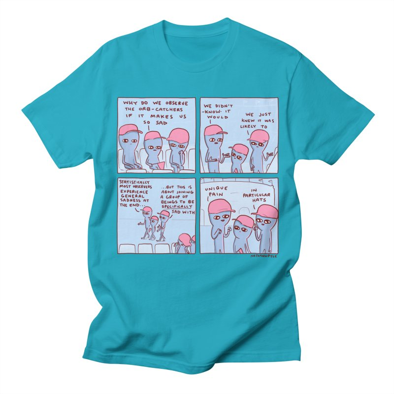 STRANGE PLANET: UNIQUE PAIN IN PARTICULAR HATS Women's Regular Unisex T-Shirt by Nathan W Pyle