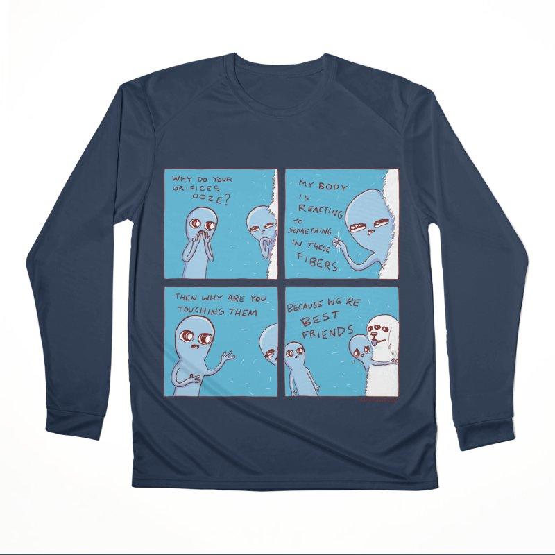 STRANGE PLANET: BEST FRIENDS Women's Performance Unisex Longsleeve T-Shirt by Nathan W Pyle