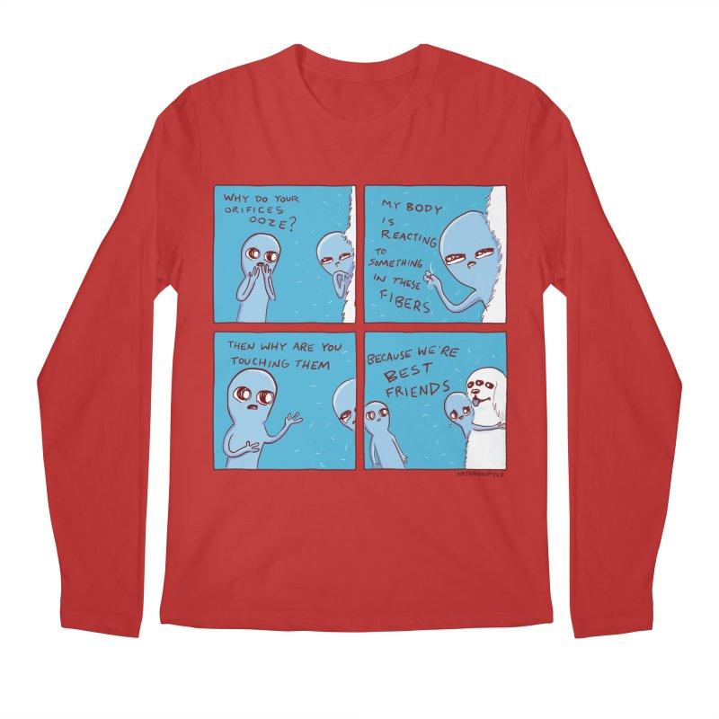 STRANGE PLANET: BEST FRIENDS Men's Regular Longsleeve T-Shirt by Nathan W Pyle