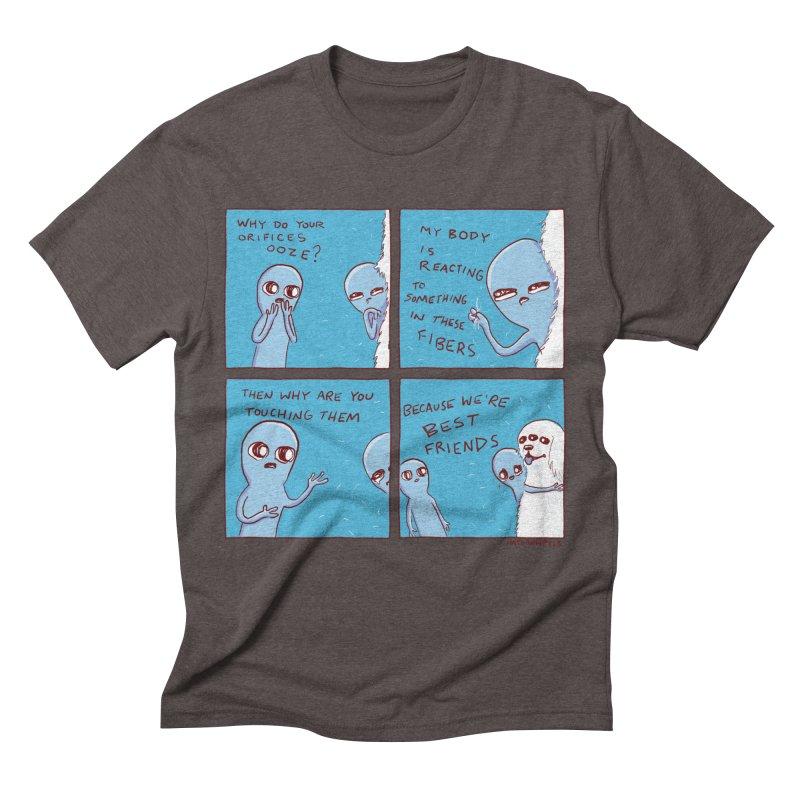 STRANGE PLANET: BEST FRIENDS Men's Triblend T-Shirt by Nathan W Pyle