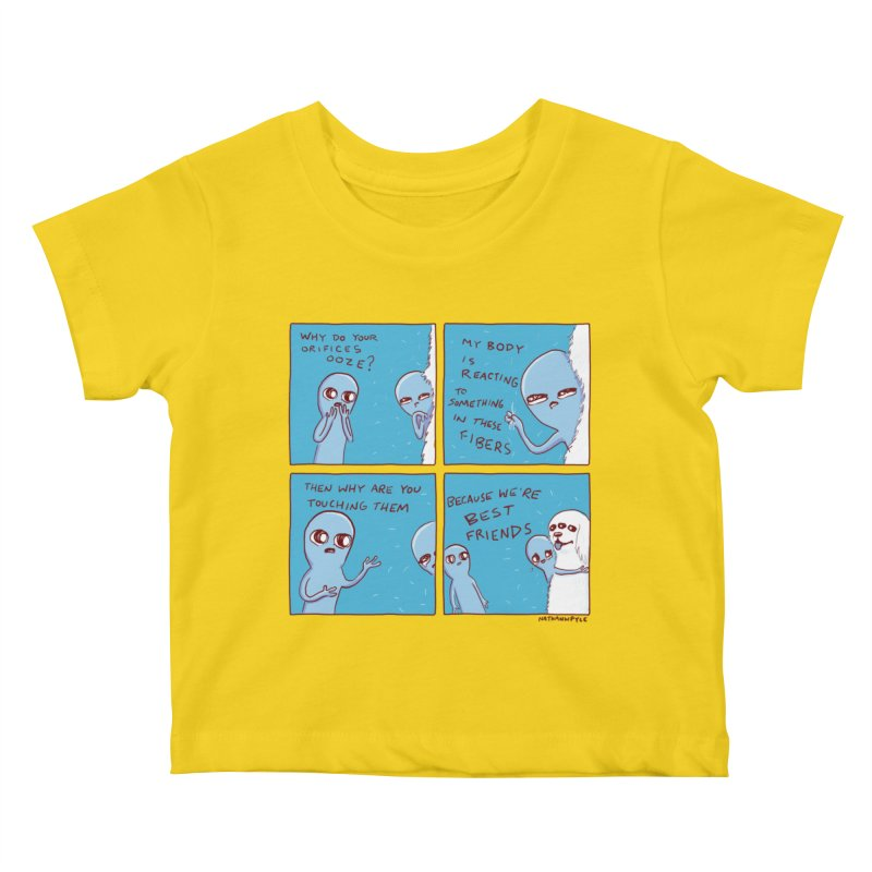 STRANGE PLANET: BEST FRIENDS Kids Baby T-Shirt by Nathan W Pyle