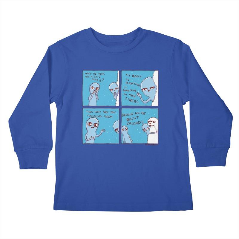 STRANGE PLANET: BEST FRIENDS Kids Longsleeve T-Shirt by Nathan W Pyle