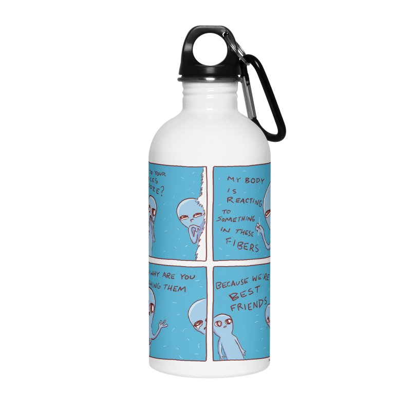 STRANGE PLANET: BEST FRIENDS Accessories Water Bottle by Nathan W Pyle