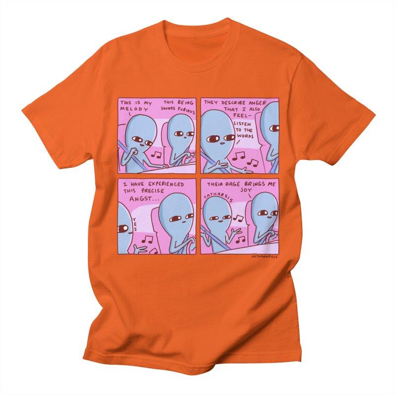 STRANGE PLANET: THEIR RAGE BRINGS ME JOY Men's Regular T-Shirt by Nathan W Pyle