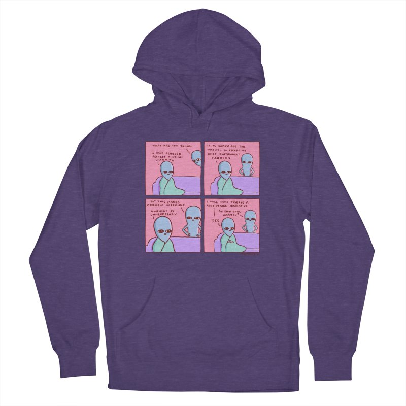 STRANGE PLANET: MOVEMENT IS UNNECESSARY Women's French Terry Pullover Hoody by Nathan W Pyle