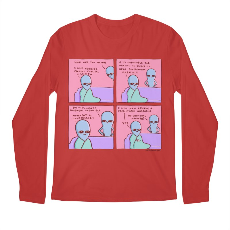 STRANGE PLANET: MOVEMENT IS UNNECESSARY Men's Regular Longsleeve T-Shirt by Nathan W Pyle