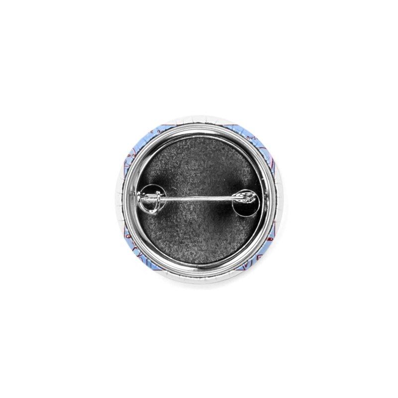 STRANGE PLANET: NEGATIVE DISPOSITION Accessories Button by Nathan W Pyle Shop   Strange Planet Store   Thread