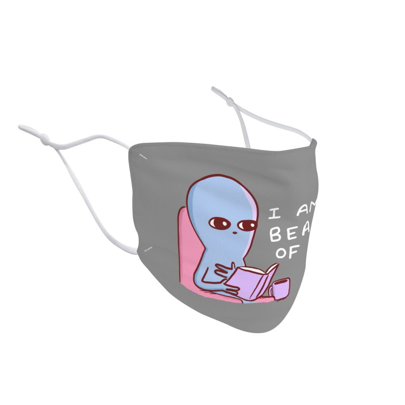 STRANGE PLANET SPECIAL PRODUCT: I AM A BEACON OF JOY Accessories Face Mask by Nathan W Pyle