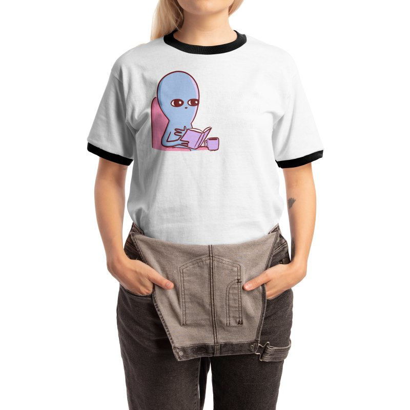 STRANGE PLANET SPECIAL PRODUCT: I AM A BEACON OF JOY Women's T-Shirt by Nathan W Pyle Shop | Strange Planet Store | Thread