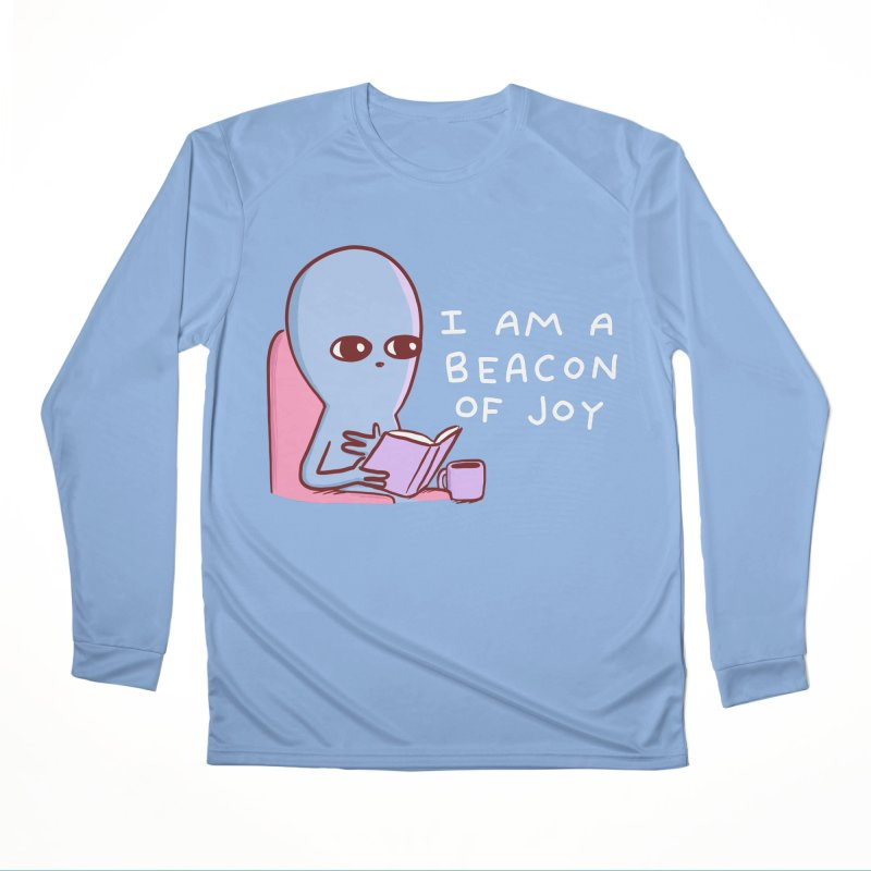 STRANGE PLANET SPECIAL PRODUCT: I AM A BEACON OF JOY Men's Longsleeve T-Shirt by Nathan W Pyle