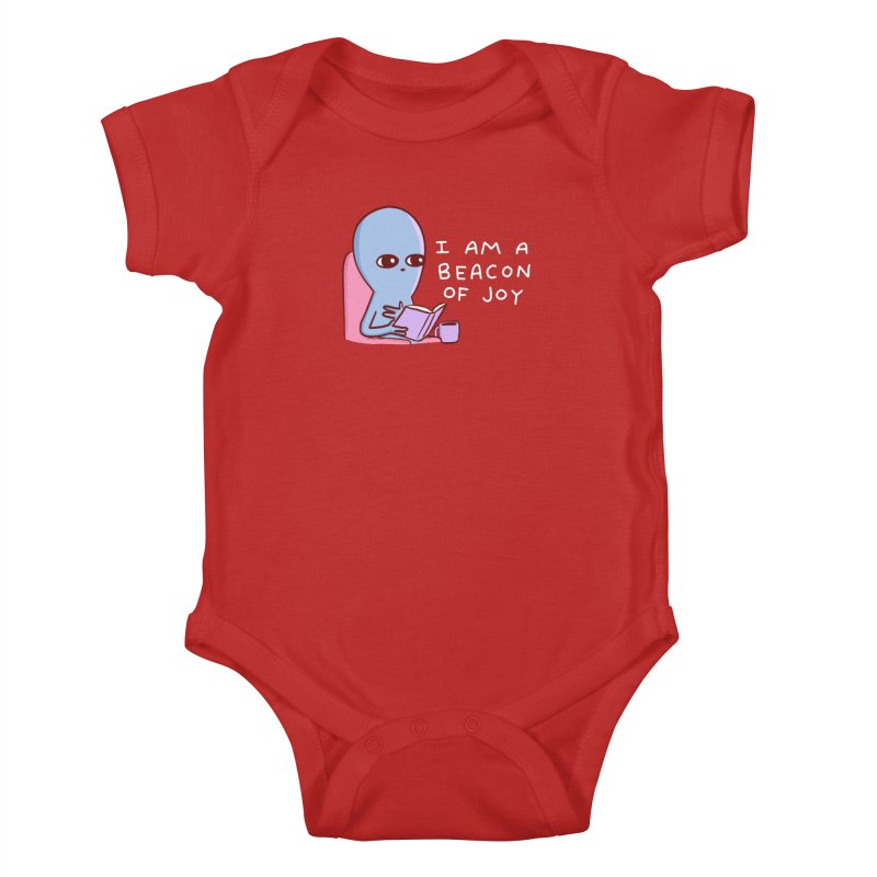 STRANGE PLANET SPECIAL PRODUCT: I AM A BEACON OF JOY Kids Baby Bodysuit by Nathan W Pyle Shop | Strange Planet Store | Thread