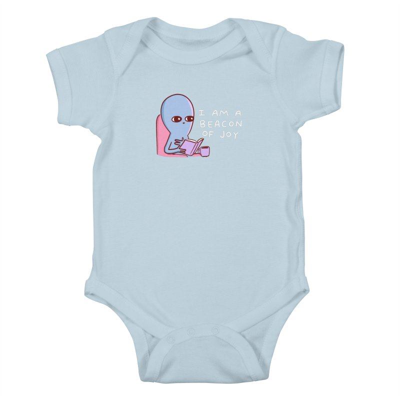 STRANGE PLANET SPECIAL PRODUCT: I AM A BEACON OF JOY Kids Baby Bodysuit by Nathan W Pyle Shop   Strange Planet Store   Thread