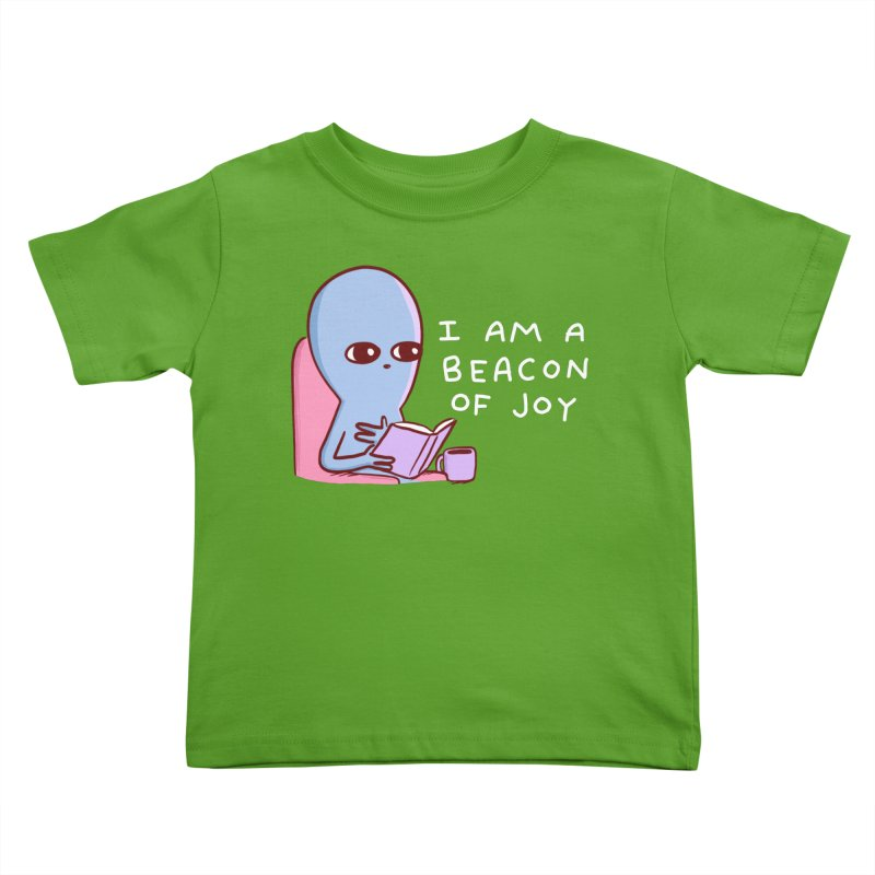 STRANGE PLANET SPECIAL PRODUCT: I AM A BEACON OF JOY Kids Toddler T-Shirt by Nathan W Pyle