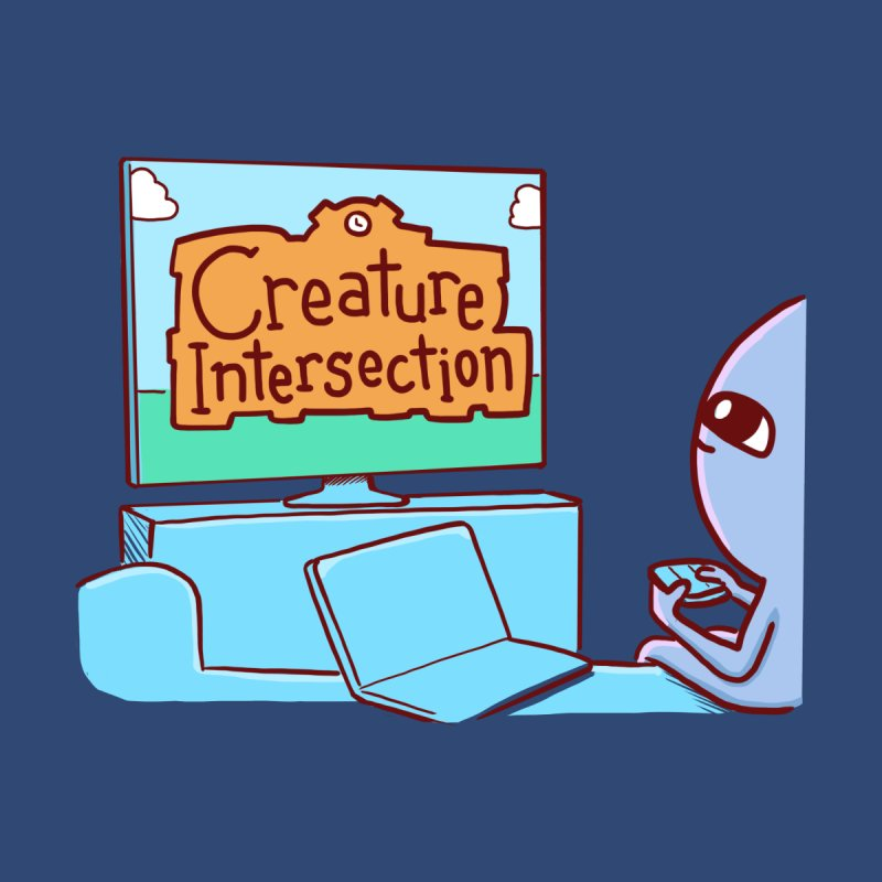 STRANGE PLANET SPECIAL PRODUCT: CREATURE INTERSECTION Women's Pullover Hoody by Nathan W Pyle