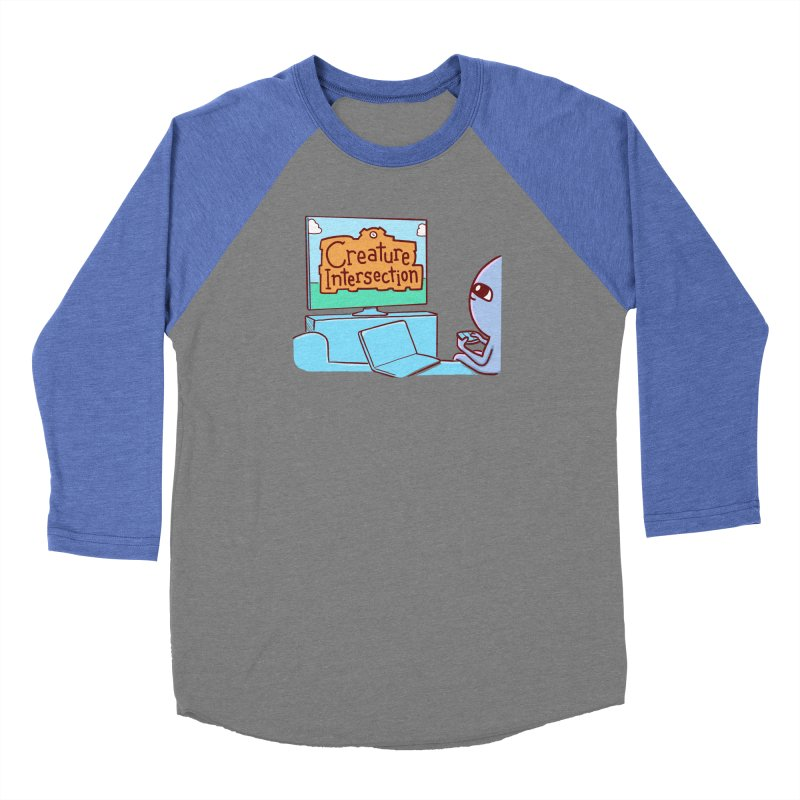 STRANGE PLANET SPECIAL PRODUCT: CREATURE INTERSECTION Women's Longsleeve T-Shirt by Nathan W Pyle