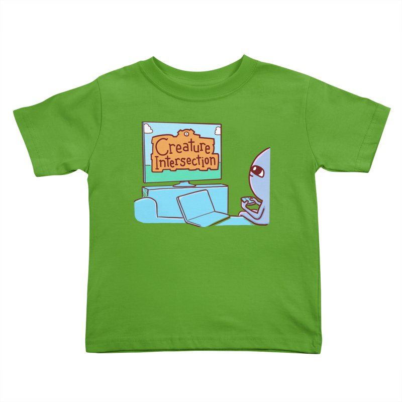 STRANGE PLANET SPECIAL PRODUCT: CREATURE INTERSECTION Kids Toddler T-Shirt by Nathan W Pyle