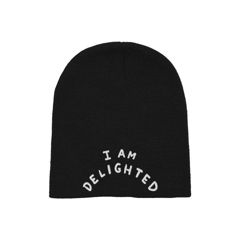 STRANGE PLANET: I AM DELIGHTED Accessories Hat by Nathan W Pyle