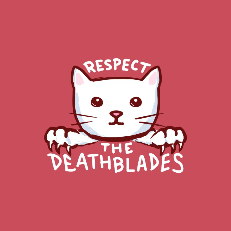 STRANGE PLANET SPECIAL PRODUCT: RESPECT THE DEATH BLADES (RED) Accessories Bag by Nathan W Pyle Shop | Strange Planet Store | Thread
