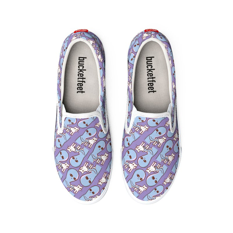 STRANGE PLANET I FOUND THIS IT'S VIBRATING PATTERN Women's Shoes by Nathan W Pyle