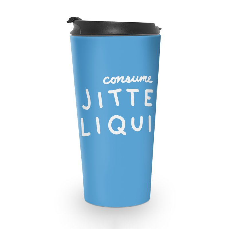 STRANGE PLANET: CONSUME JITTER LIQUID Accessories Mug by Nathan W Pyle
