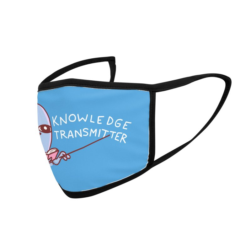 STRANGE PLANET SPECIAL PRODUCT: KNOWLEDGE TRANSMITTER Accessories Face Mask by Nathan W Pyle Shop | Strange Planet Store | Thread