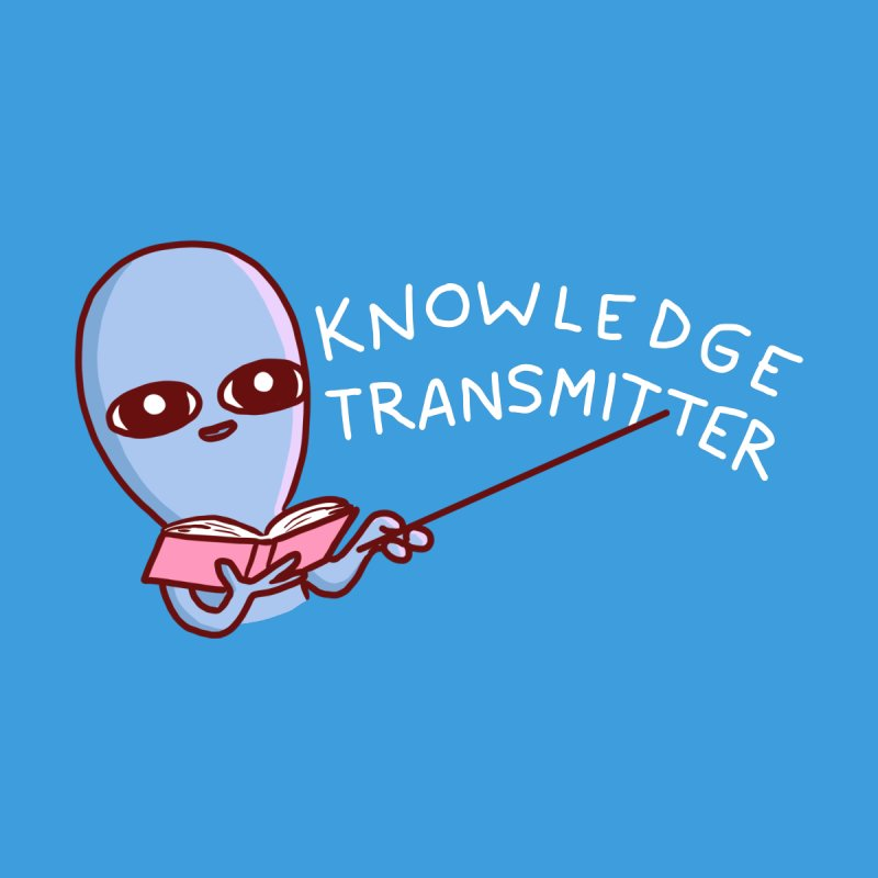 STRANGE PLANET SPECIAL PRODUCT: KNOWLEDGE TRANSMITTER Accessories Button by Nathan W Pyle