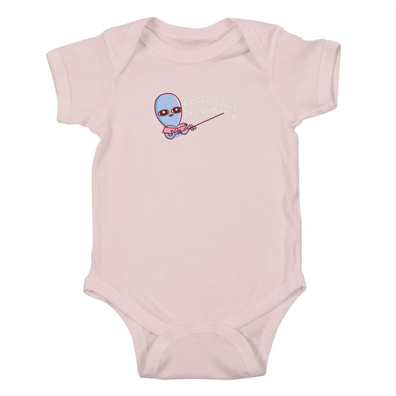 STRANGE PLANET SPECIAL PRODUCT: KNOWLEDGE TRANSMITTER Kids Baby Bodysuit by Nathan W Pyle Shop | Strange Planet Store | Thread