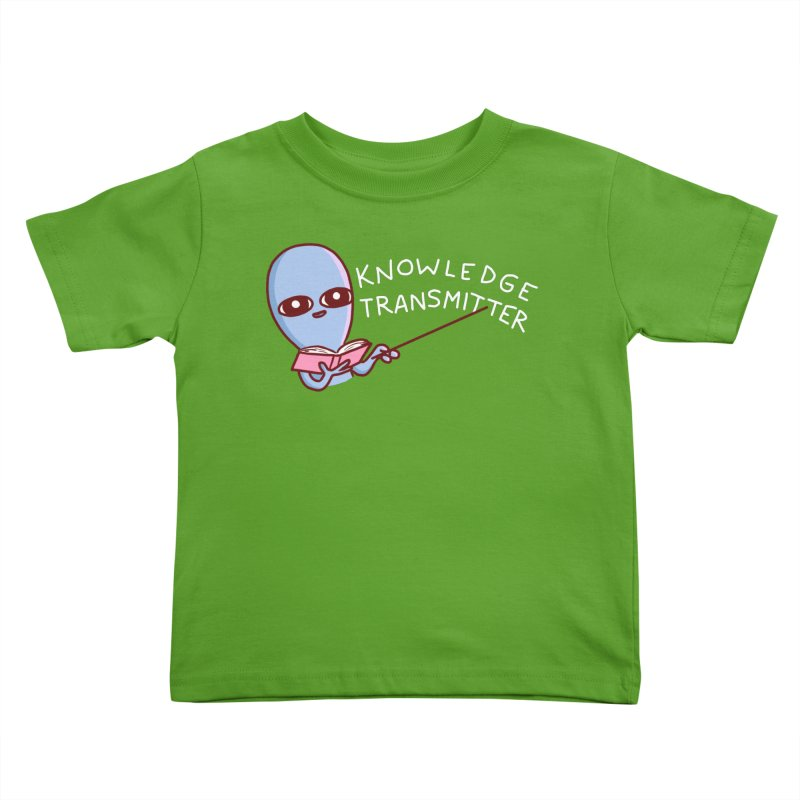 STRANGE PLANET SPECIAL PRODUCT: KNOWLEDGE TRANSMITTER Kids Toddler T-Shirt by Nathan W Pyle Shop | Strange Planet Store | Thread