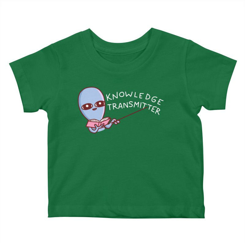 STRANGE PLANET SPECIAL PRODUCT: KNOWLEDGE TRANSMITTER Kids Baby T-Shirt by Nathan W Pyle Shop   Strange Planet Store   Thread