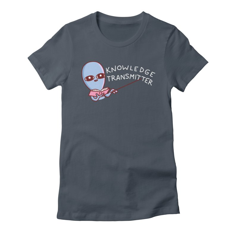 STRANGE PLANET SPECIAL PRODUCT: KNOWLEDGE TRANSMITTER Women's T-Shirt by Nathan W Pyle Shop | Strange Planet Store