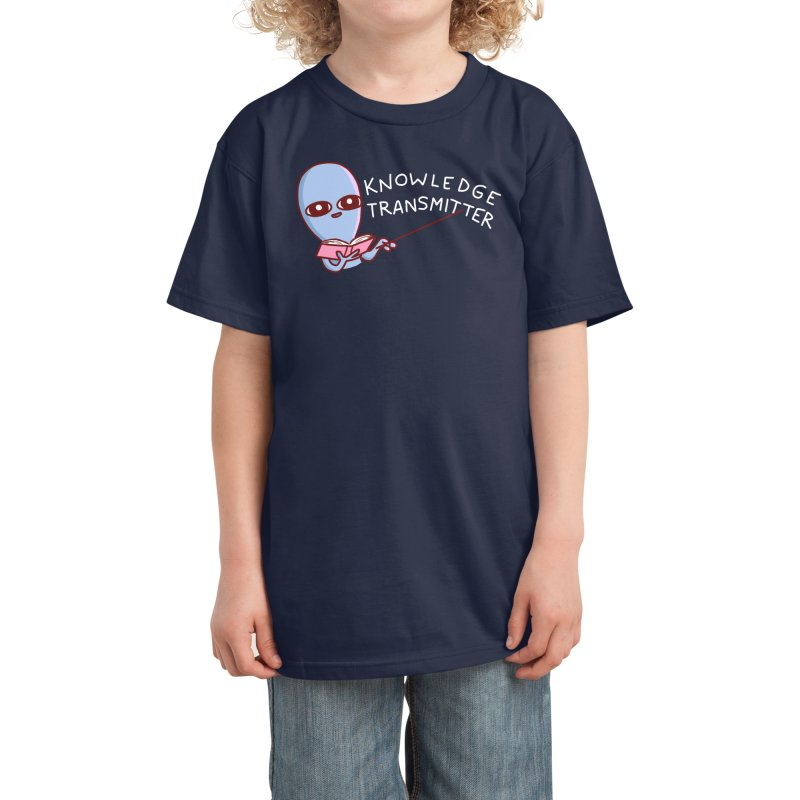 STRANGE PLANET SPECIAL PRODUCT: KNOWLEDGE TRANSMITTER Kids T-Shirt by Nathan W Pyle Shop | Strange Planet Store | Thread
