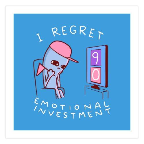 image for STRANGE PLANET SPECIAL PRODUCT: I REGRET EMOTIONAL INVESTMENT