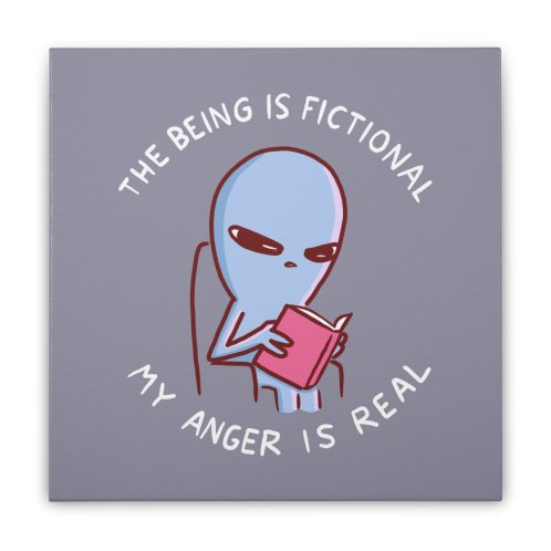 image for STRANGE PLANET SPECIAL PRODUCT: THE BEING IS FICTIONAL MY ANGER IS REAL