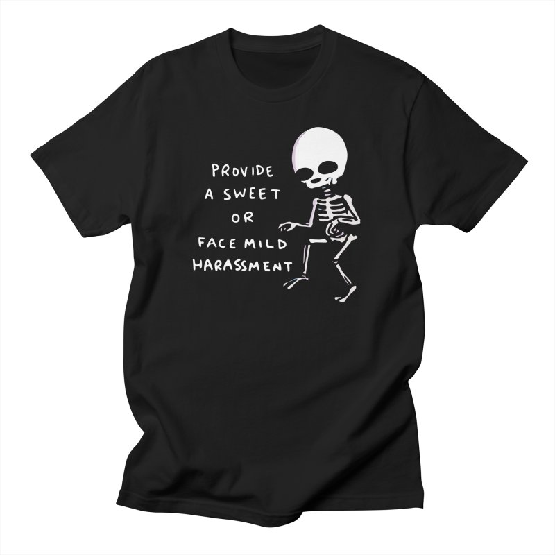 STRANGE PLANET SPECIAL PRODUCT: SWEET OR HARASSMENT Men's T-Shirt by Nathan W Pyle Shop | Strange Planet Store | Thread