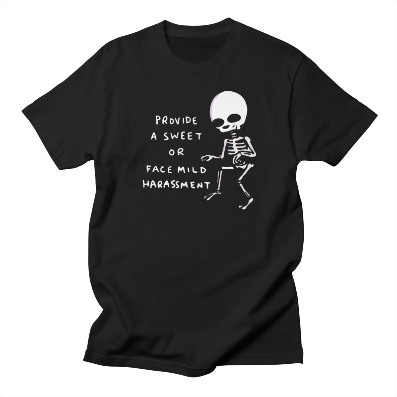 STRANGE PLANET SPECIAL PRODUCT: SWEET OR HARASSMENT Men's T-Shirt by Nathan W Pyle