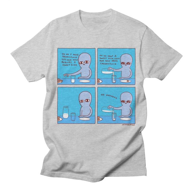 STRANGE PLANET: SWEET DISKS / OH NOOOOOO Men's T-Shirt by Nathan W Pyle