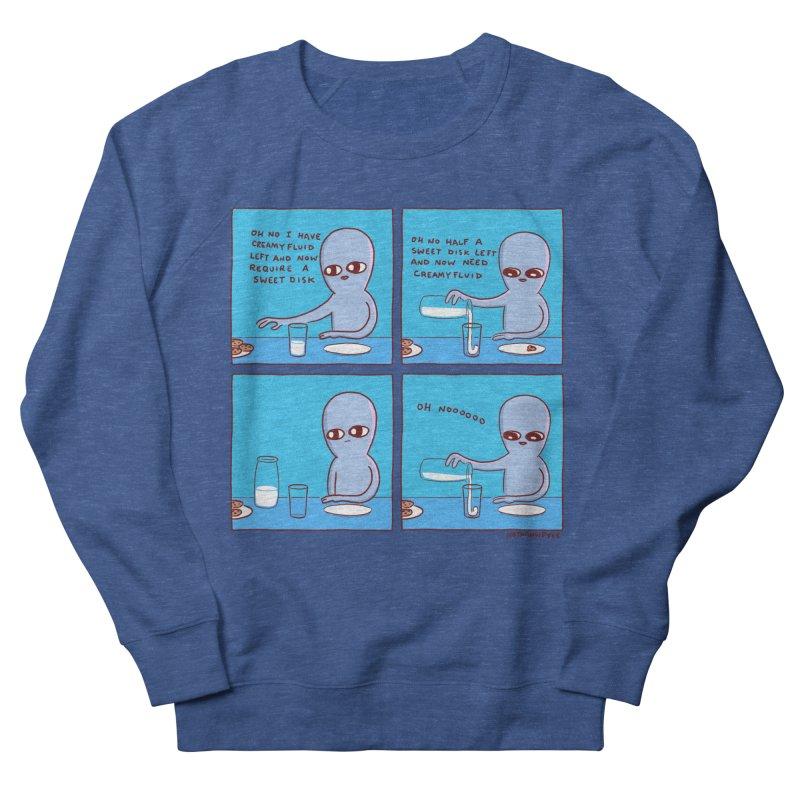 STRANGE PLANET: SWEET DISKS / OH NOOOOOO Men's Sweatshirt by Nathan W Pyle