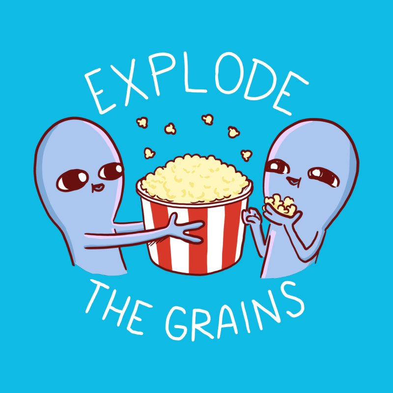 STRANGE PLANET SPECIAL PRODUCT: EXPLODE THE GRAINS Women's Sweatshirt by Nathan W Pyle