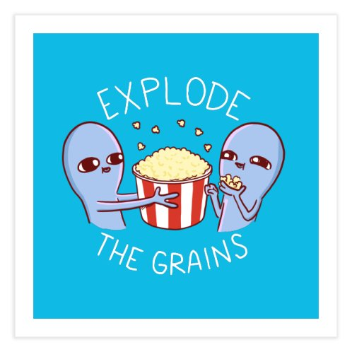 image for STRANGE PLANET SPECIAL PRODUCT: EXPLODE THE GRAINS