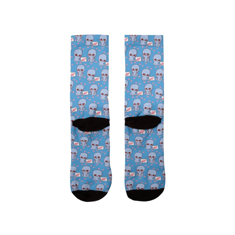 Strange Planet Special Product: Blood Pump Pattern Men's Socks by Nathan W Pyle