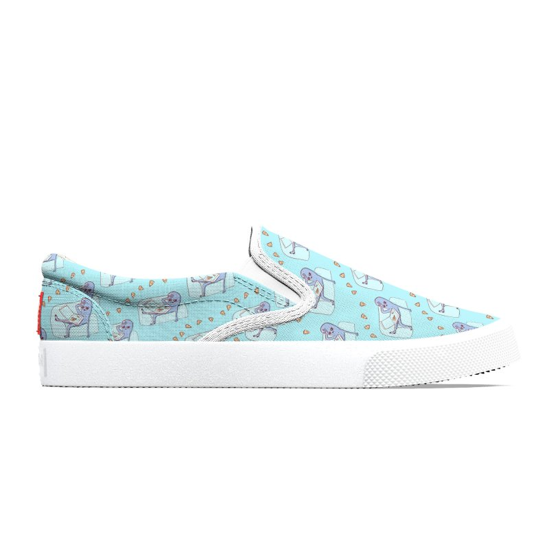 Strange Planet Special Product: Pizza Pattern Women's Shoes by Nathan W Pyle Shop   Strange Planet Store   Thread