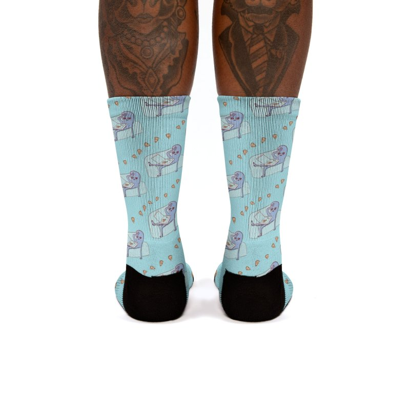 Strange Planet Special Product: Pizza Pattern Women's Socks by Nathan W Pyle Shop   Strange Planet Store   Thread