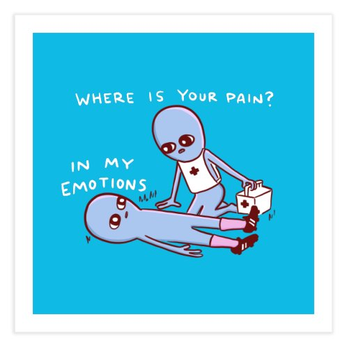 image for STRANGE PLANET SPECIAL PRODUCT: WHERE IS YOUR PAIN? IN MY EMOTIONS
